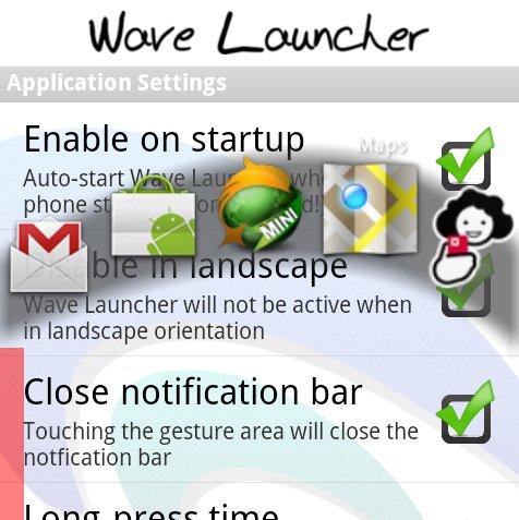 Wave-Launcher: Startet eine Welle von Apps