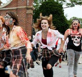 """Maps-basiertes Game """"Zombie, Run!"""": sinnfrei, aber spaßig"""