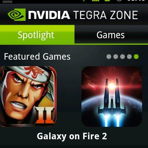 Nvidias TegraZone steht zum Download bereit