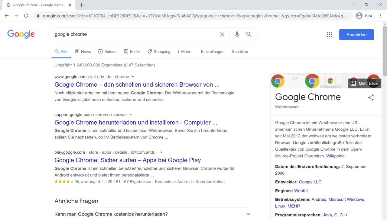 Chrome öffnet Sich Automatisch