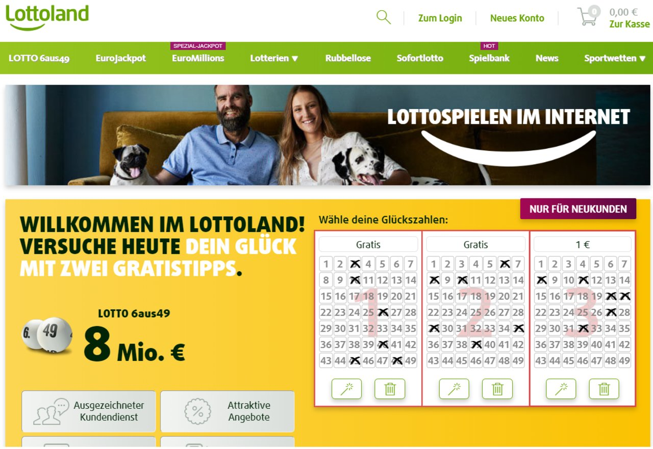 Bewertung Lottoland