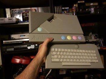 Atari XE Game System (XEGS) - 1987