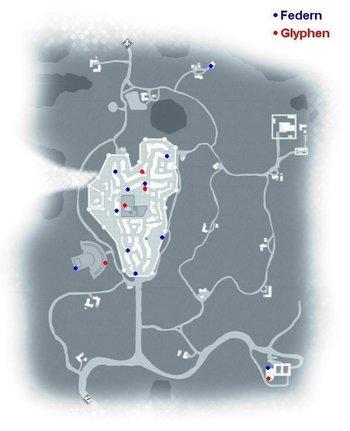 11 Federn und 5 Glyphen findet ihr in der Toskana und San Gimignano.