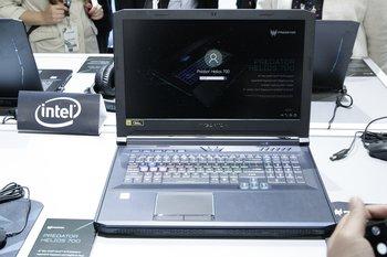 Der Acer Helios 700 in ganzer Pracht
