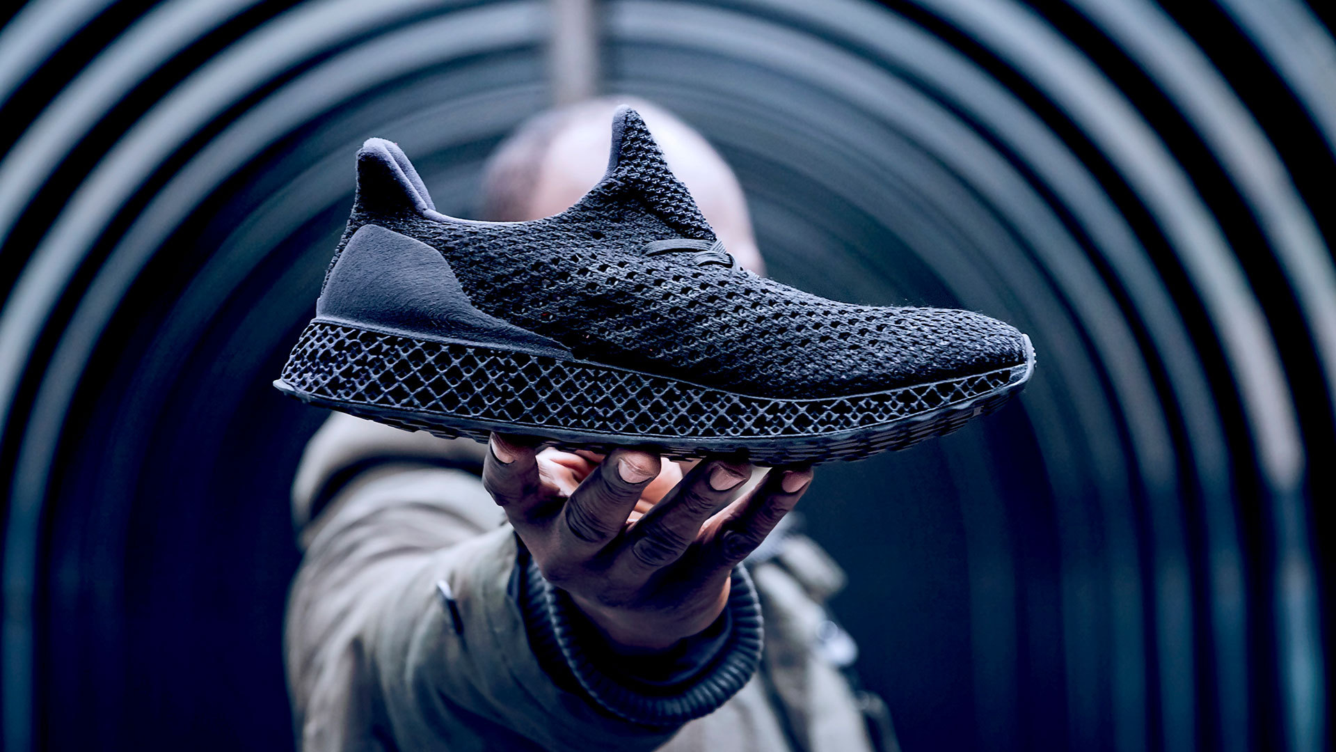 dem Schuhe 3D verkauft aus 3D RunnerAdidas Drucker nwPk8O0