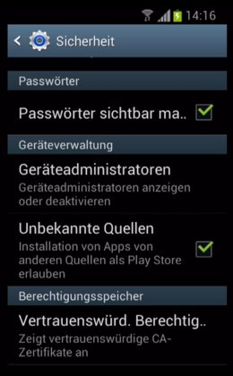 4. Adobe Flash Player auf Android installieren