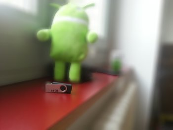 Android Testbild Ergebnis