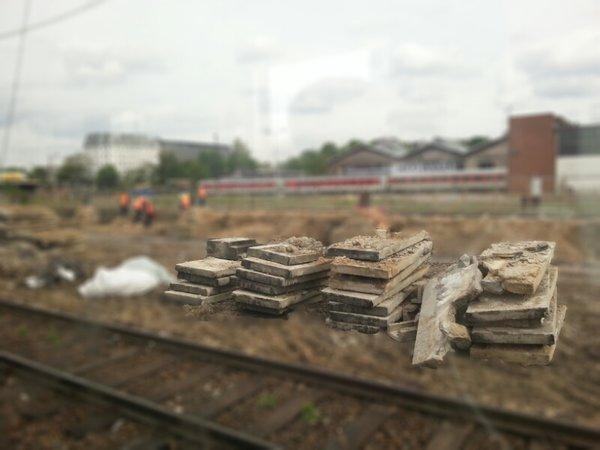 Berlin S-Bahn Warschauerstr.