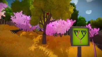 Apfelbaum 2: Der Baum steht etwas versetzt und ihr müsst ihn aus anderer Position betrachten.