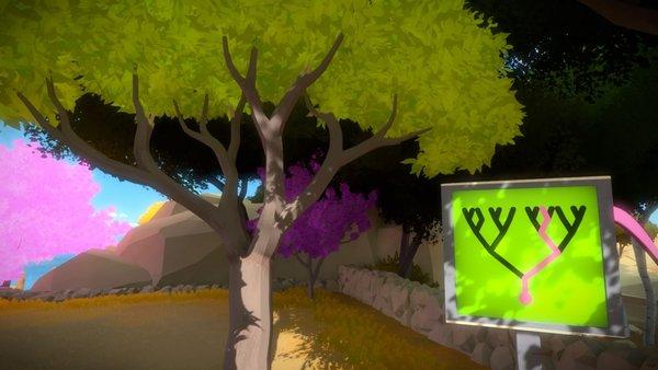 Apfelbaum 5: Der Apfel ist weg. Er befand sich an dem abgebrochenen Ast, der als solcher nicht auf dem Panel verzeichnet ist.