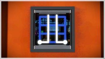 Glasfabrik: Eingangstür