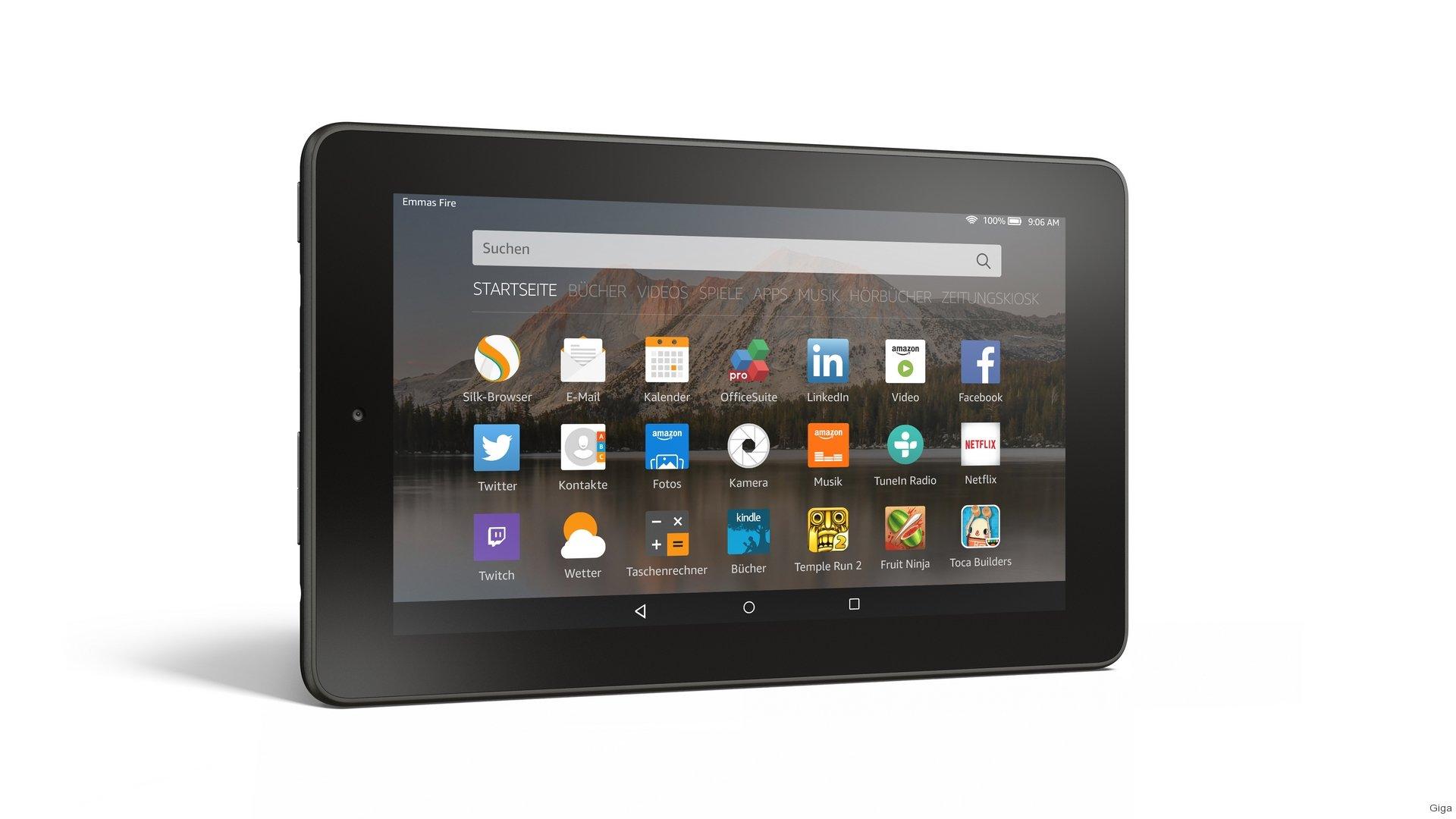 amazon fire im hands on quad core tablet f r 60 euro vorgestellt giga. Black Bedroom Furniture Sets. Home Design Ideas