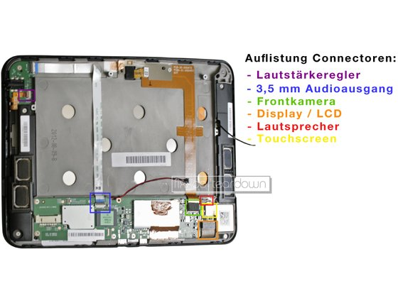 Amazon Kindle Fire HD Teardown