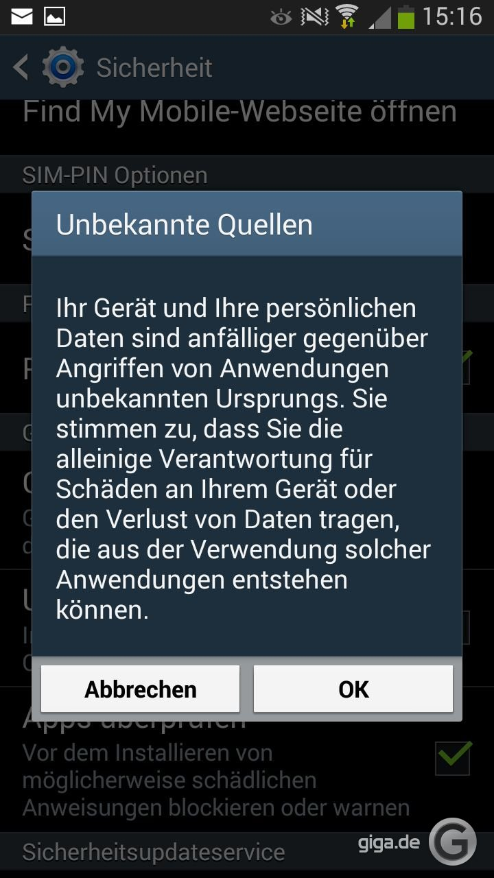 Dating-apps auf android