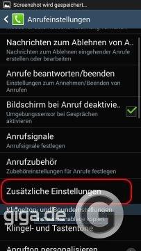 Android Rufummer unterdrücken