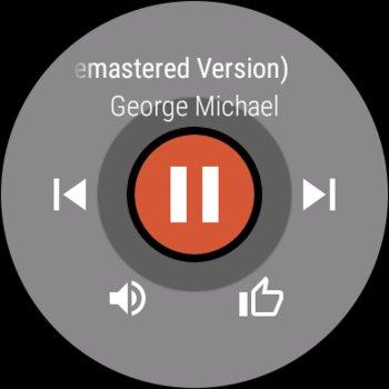 Das Interface von Google Play Music, nach einigen Minuten Wartezeit – abgespielt wurde allerdings nichts