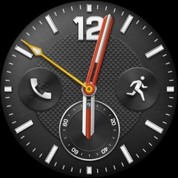 Watchface auf der Huawei Watch 2