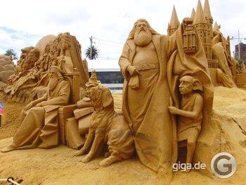Angry Birds jetzt als Sandskulpturen!