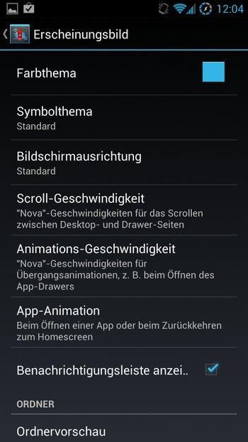 AOKP Jelly Bean Galaxy S3 Einstellungen 5