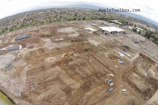 Apple Campus 2 Fotos vom 5. März 2014