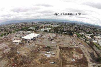 Apple Campus 2 Fotos vom 5. März 2014