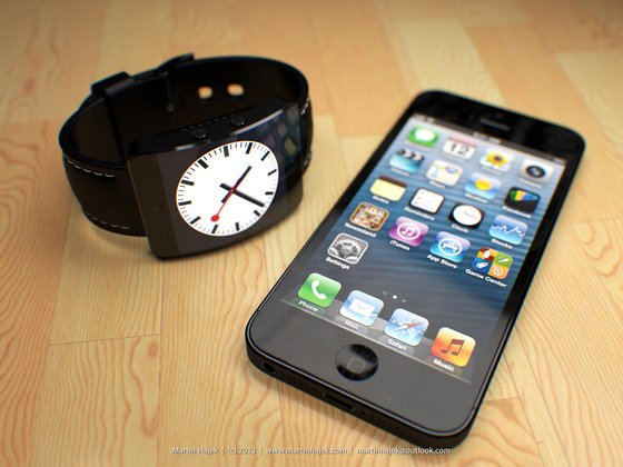 Mockup der Apple iWatch