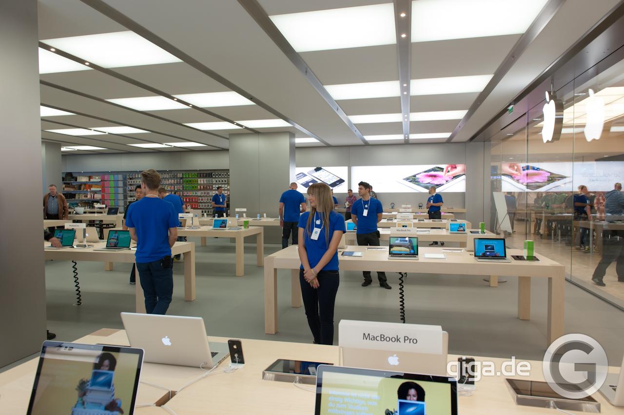 apple store rhein center so sieht der erste apple store in k ln aus giga. Black Bedroom Furniture Sets. Home Design Ideas