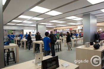 Apple Store Rhein Center - Bild: Holger Eilhard/GIGA.DE