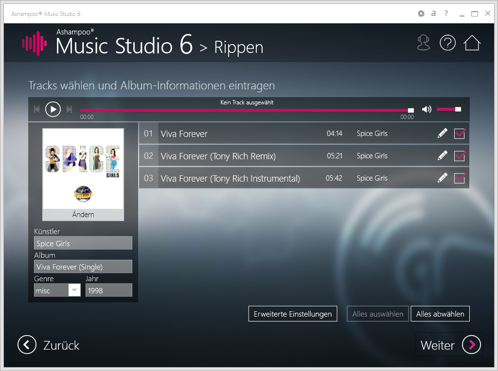 Ashampoo Music Studio 6 Download Juni 2015 Giga