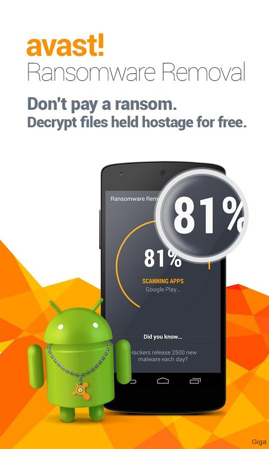Avast Ransomware Removal – GIGA - Android App