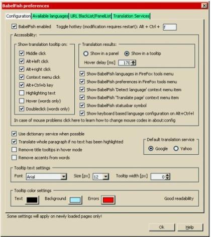 download-babelfish-instant-translation-screenshot