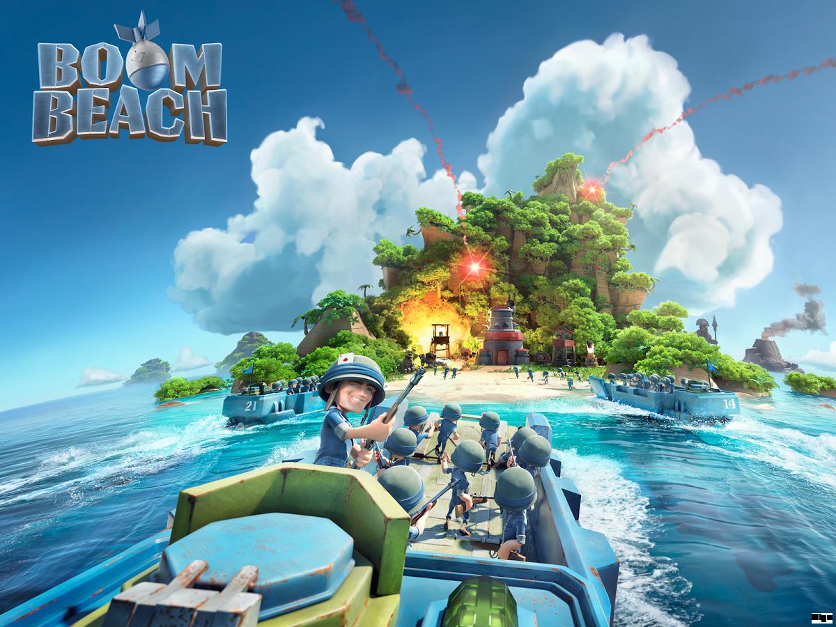 Boom Beach Spielen