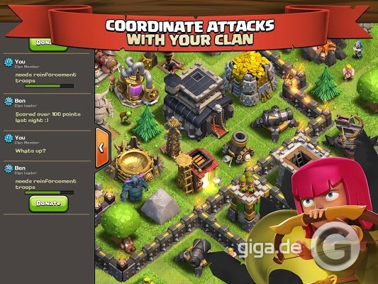 clash of clans spiele
