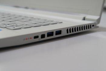 Anschlüsse ContentD-Laptop