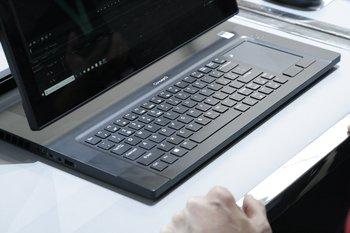 Tastatur des ConceptD 9