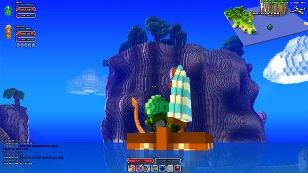 Cube World Seefahrt