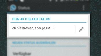 Ich bin Batman, aber pssst&#8230&#x3B;&#8230&#x3B;!