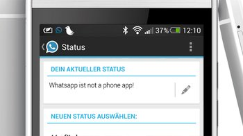Whatsapp ist not a phone app!