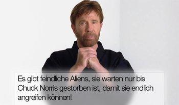 Spoiler: Alienangriffe nach dem Tod von Chuck Norris