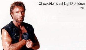 Chuck Norris schlägt jeden