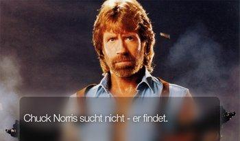Chuck Norris kann alles