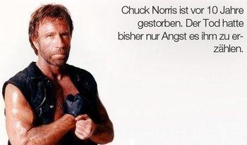 Das ist kein Chuck-Norris-Witz - das ist ernst