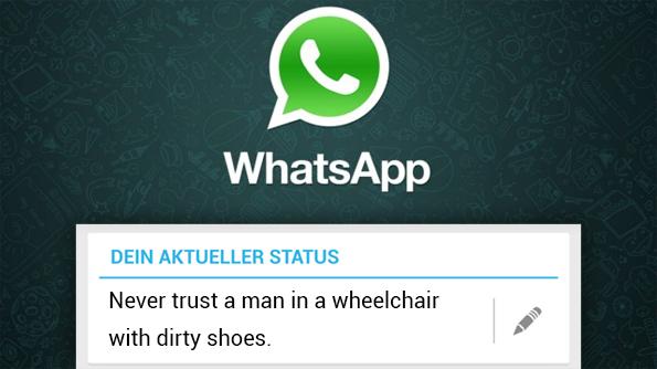 Whatsapp gelesen aber nicht online