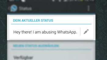 Hey there! I am abusing WhatsApp.