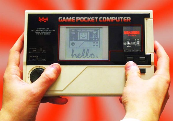 Epoch Game Pocket Computer, 1984