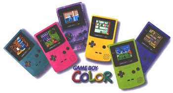 Game Boy Colour, 1998