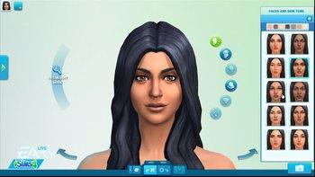 Die Sims 4 Charaktergenerierung
