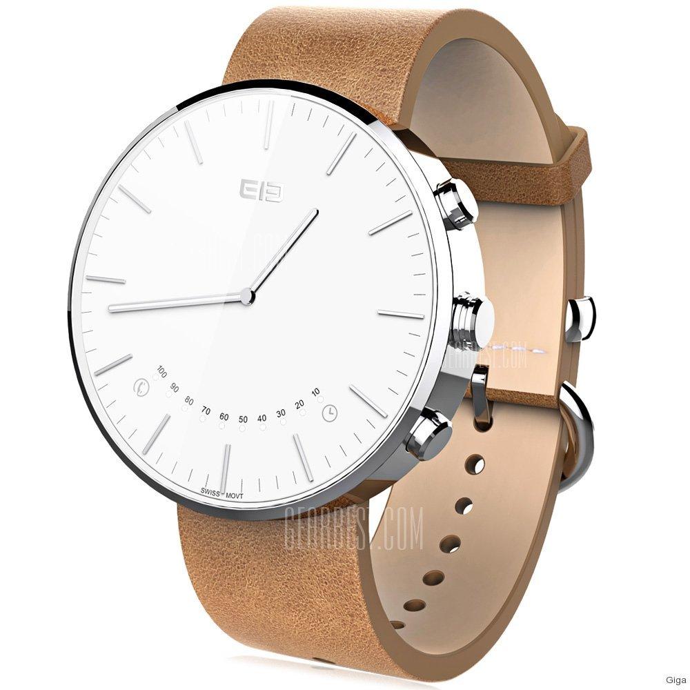 Elephone W2: Pseudo-Smartwatch mit analogem Ziffernblatt ...