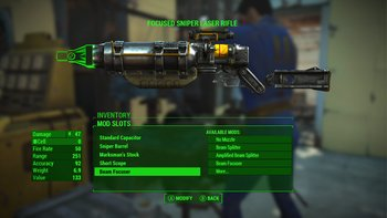 Fallout 4: Waffen-Modding