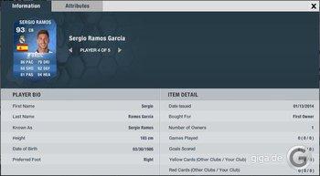 FIFA 14 TOTY: Sergio Ramos